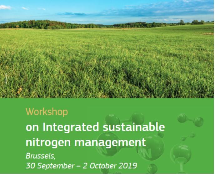 Workshop on integrated sustainable nitrogen management