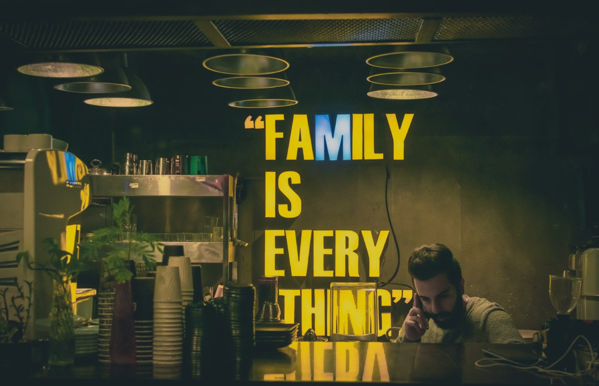 We are family — but are we business?